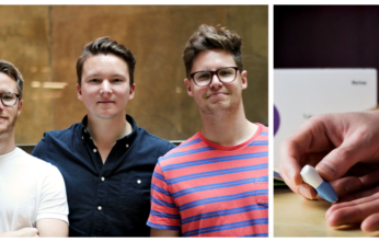 New Thriva(1) - founder Hamish Grierson with his co-founders Tom Livesey, Eliot Brooks