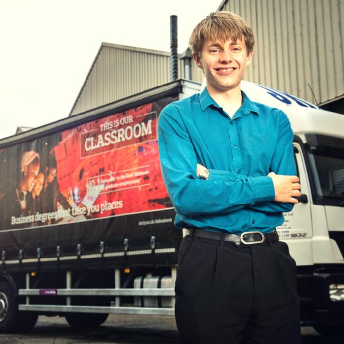 Young Entrepreneur Dragons' Den Ed Holland