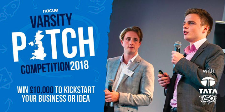 NACUE's Varsity Pitch Competition 2018