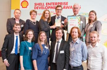 Shell Springboard finalists - funding pot