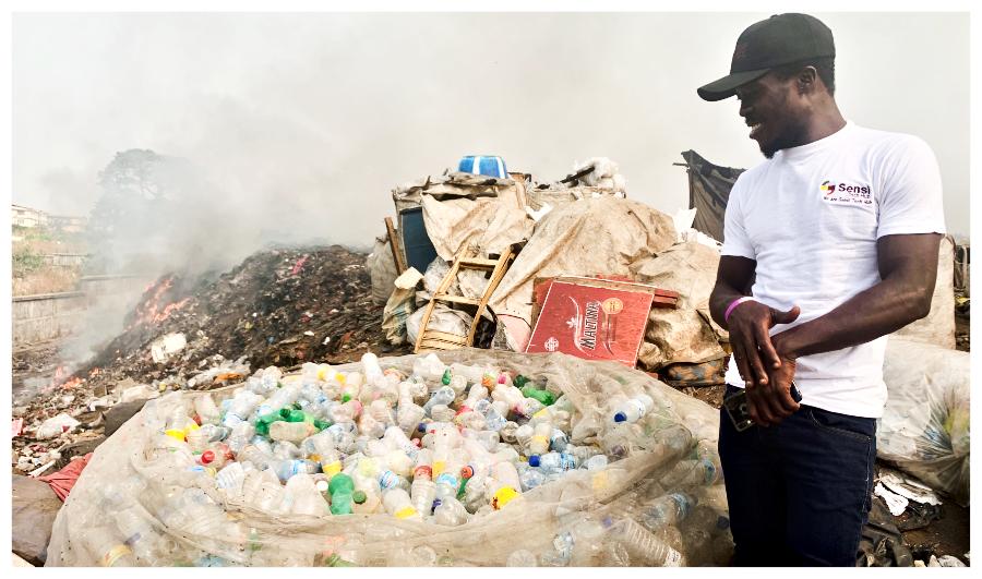 number 2 - Sierra Leone plastic Africa - Image Copyright I Am New Generation Magazine