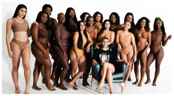 women of colour 1 - Nunude brand with Skin Bandages