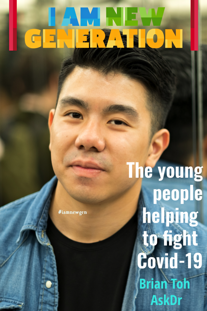 I Am New Generation Magazine - Brian Toh AskDr - The young people helping to fight Covid-19