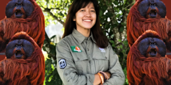Sari Fitriani - Orangutans #evoiamnewgen - I Am New Generation Magazine