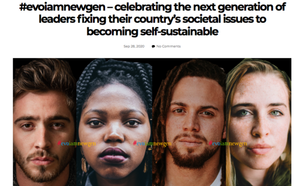 #evoiamnewgen - I Am New Generation Magazine